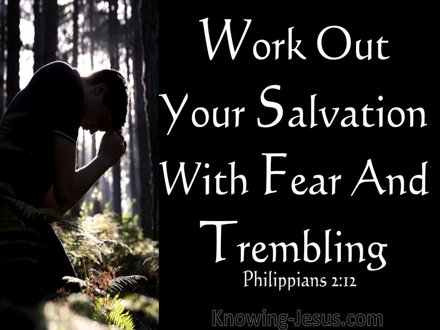 Philippians 2:12 Word Out Your Salvation (white)