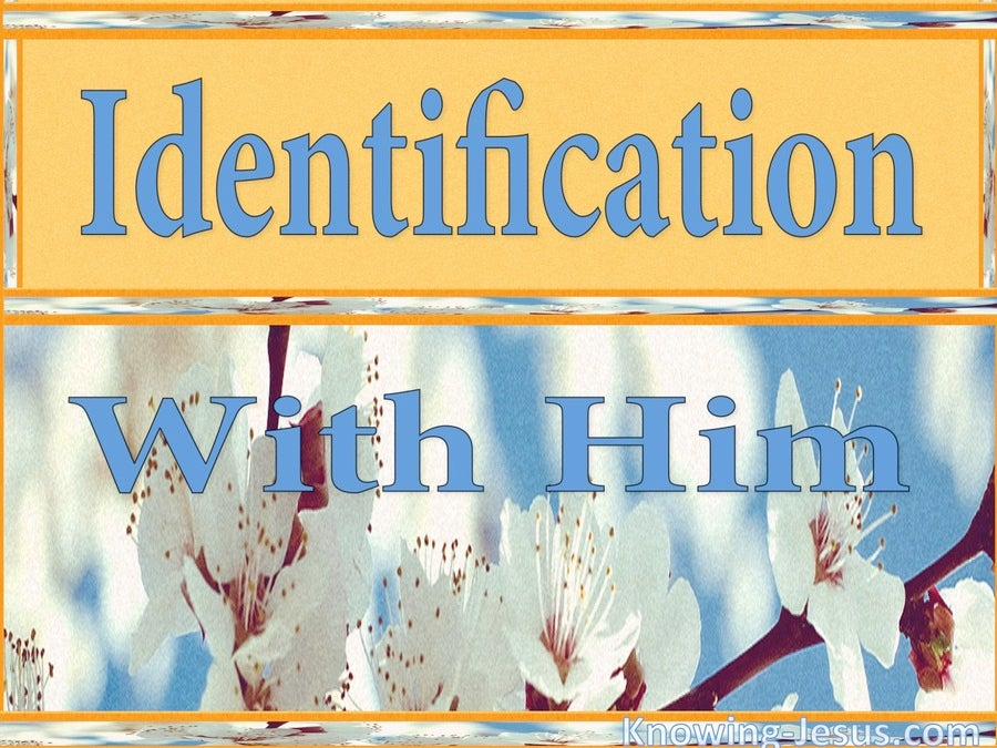 Identification With Him (devotional)