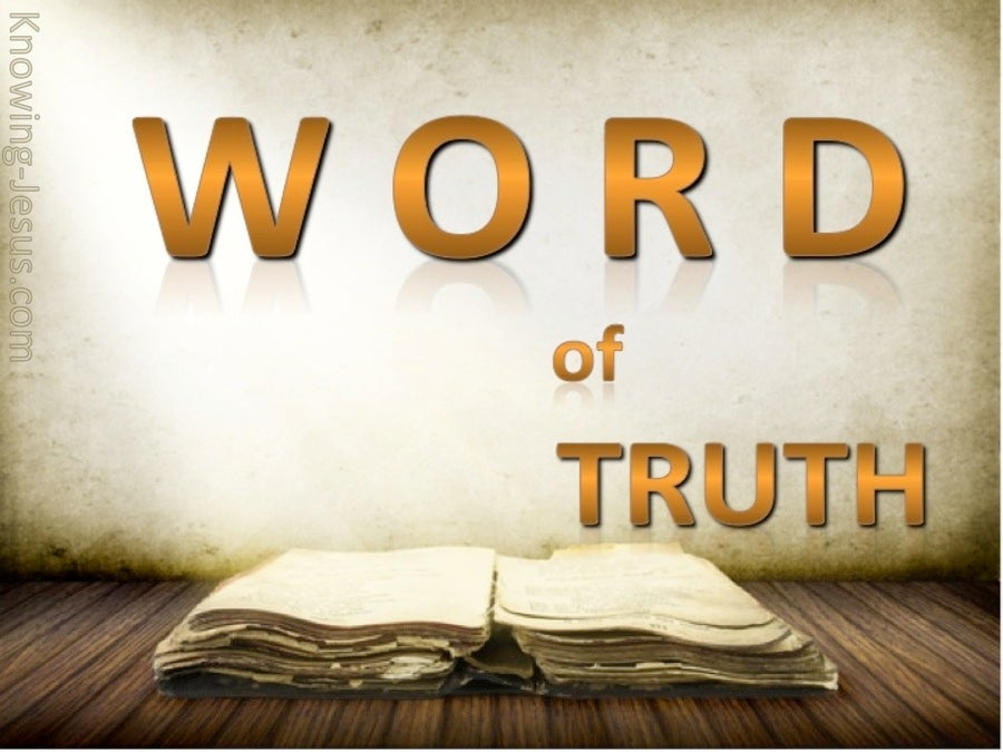 2 Timothy 2:15 Letter Of Truth (devotional)11:08 (brown)