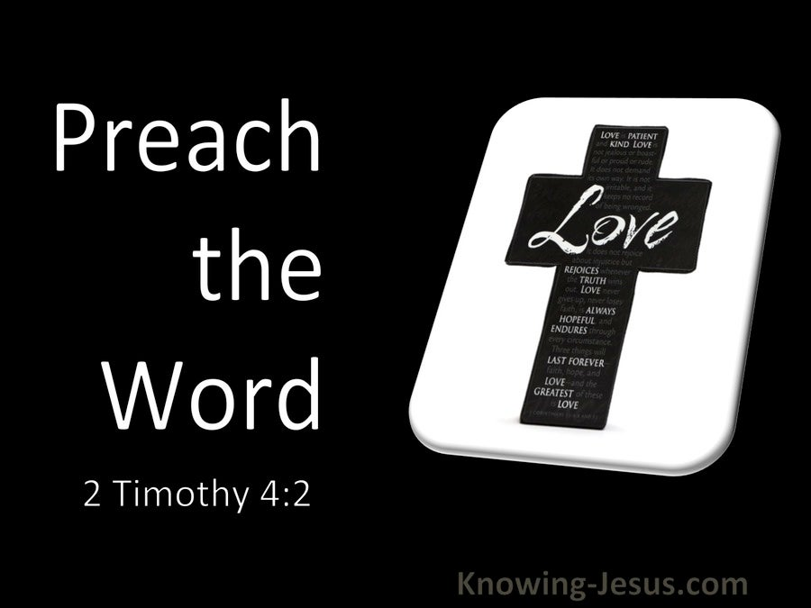 2 Timothy 4:2 Preach The Word (utmost)03:10
