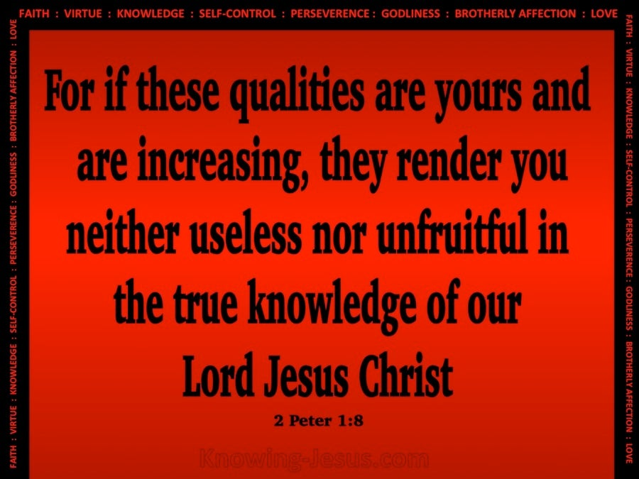 2 Peter 1:8 Qualities Of The Spiritual Christian (black)