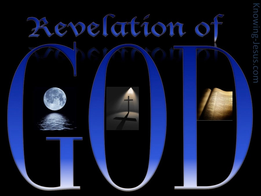 Revelation of God Revelation of God (devotional) (blue)
