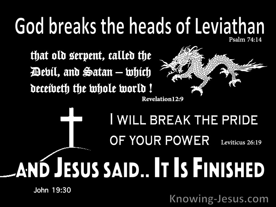 Psalm 74:14 Have You Considered Leviathan (devotional)02:07 (black)