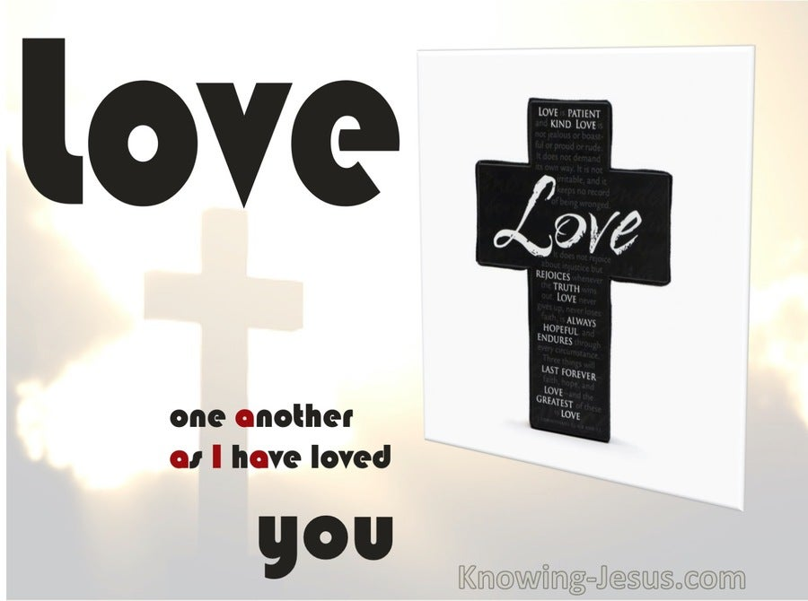 John 3:34  Love As I Have Loved (devotional)03:25 (white)