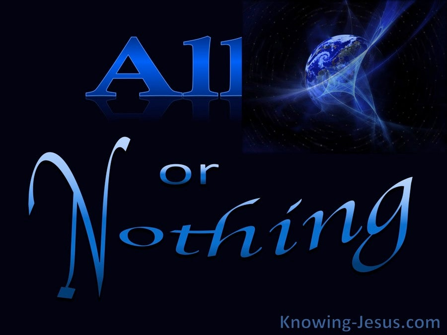 All Or Nothing (devotional)04-27 (black)