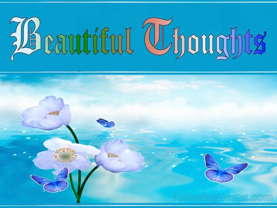 Beautiful Thoughts (devotional)02-05 (aqua)