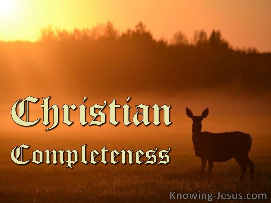 Christian Completeness (devotional)