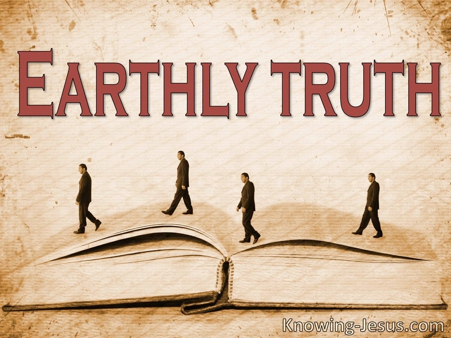Earthly Truth (devotional)