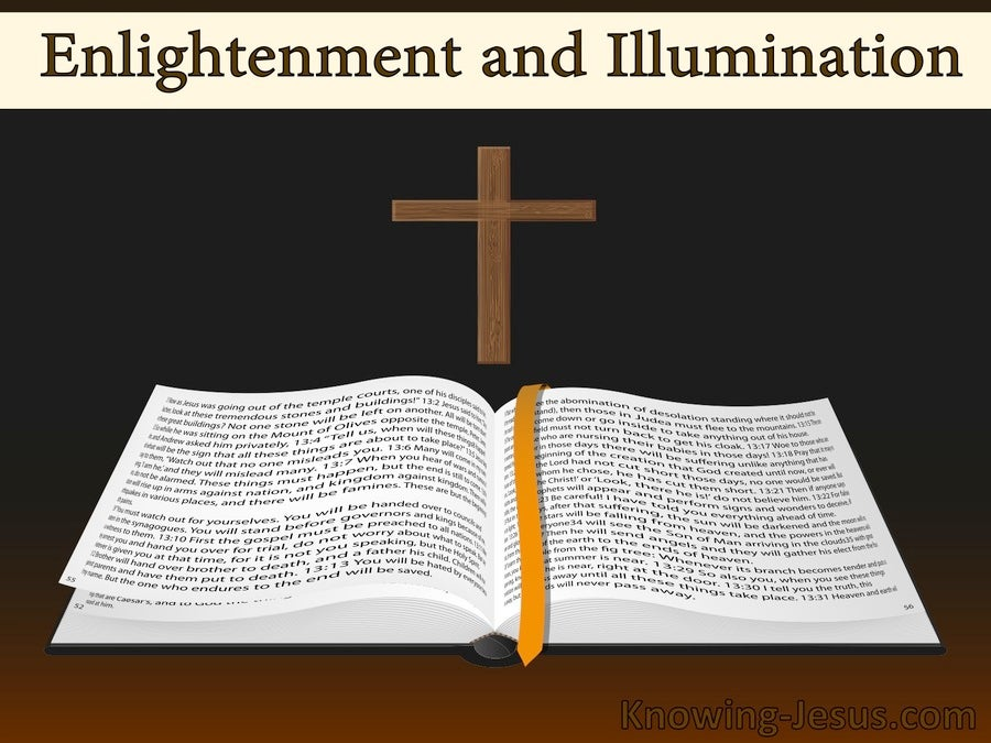 Enlightenment And Illumination (devotional)03-18 (beige)