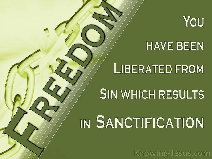 Faith and Freedom (devotional) (sage) - Romans 6:22