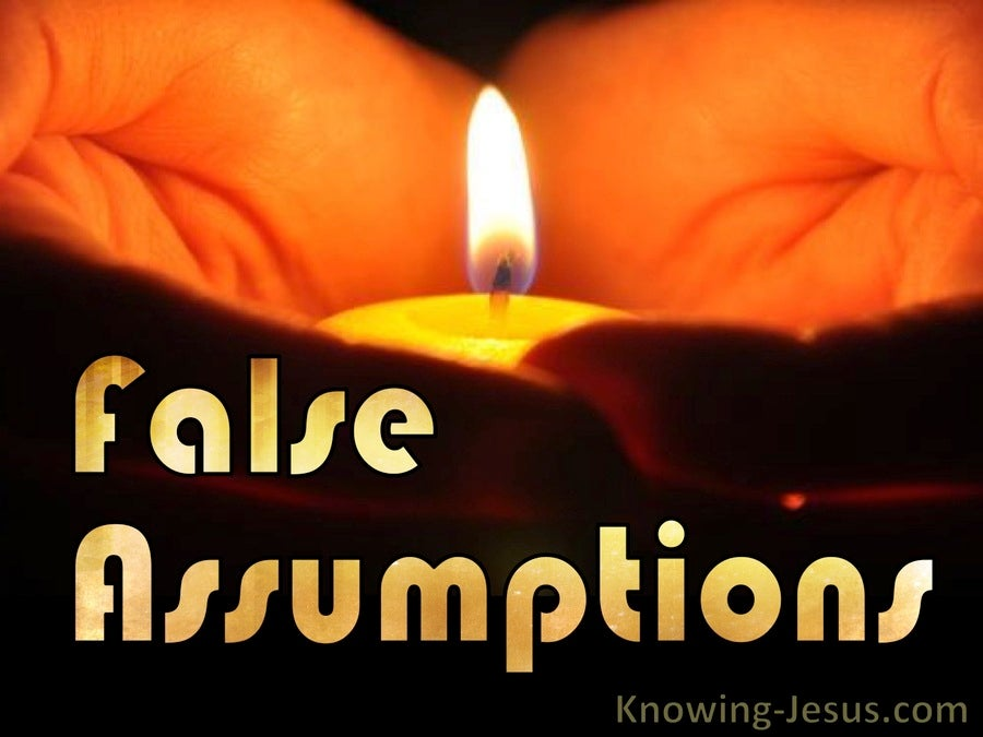 False Assumption (devotional) (gold)