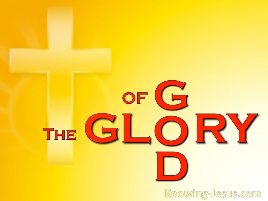 The Glory of God (devotional) (red)