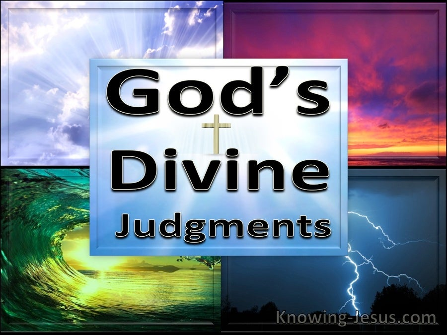 God's Divine Judgements (devotional)07-03 (black)