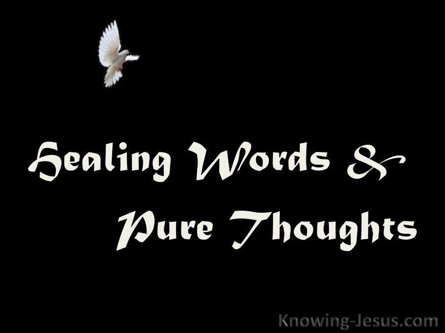 Healing Words and Pure Thoughts (devotional)03-27 (white)