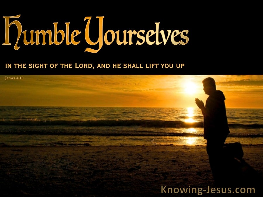 Humble Yourself (devotional) (brown) - James 4:10