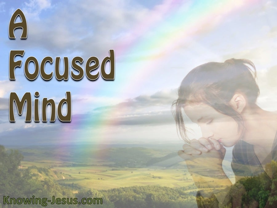 A Focused Mind (devotional) (blue)