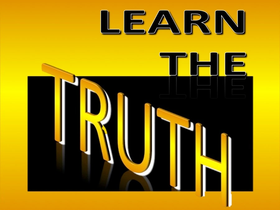 Learn The Truth (devotional)