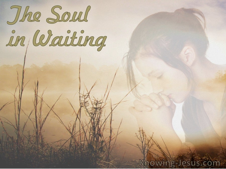 The Soul in Waiting (devotional) (gray)