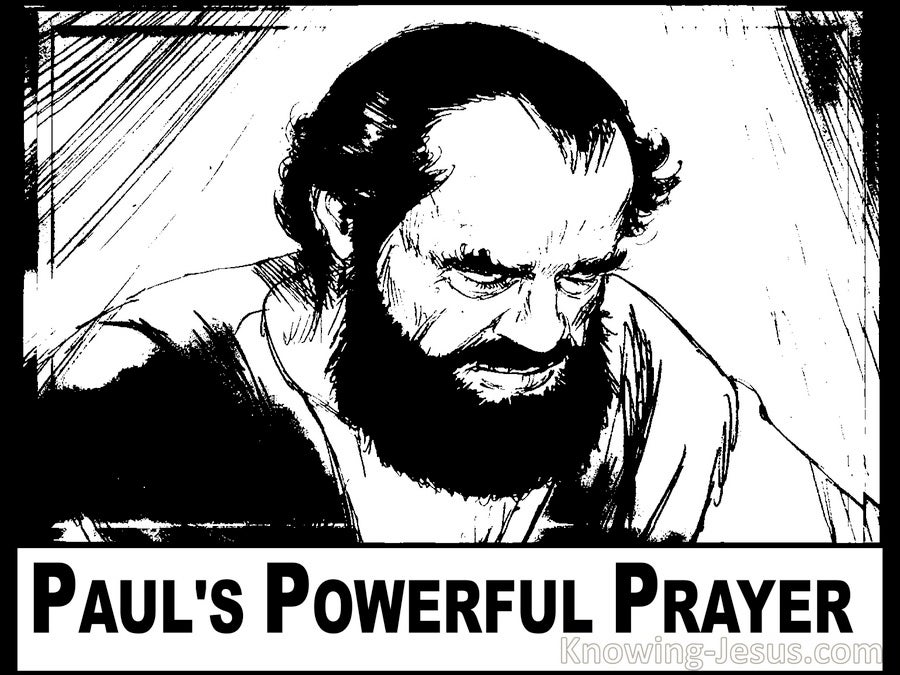 Paul's Powerful Prayer (devotional)12-08 (white)