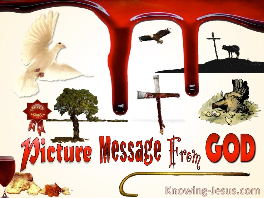 Picture Message From God (devotional)12-17 (red)