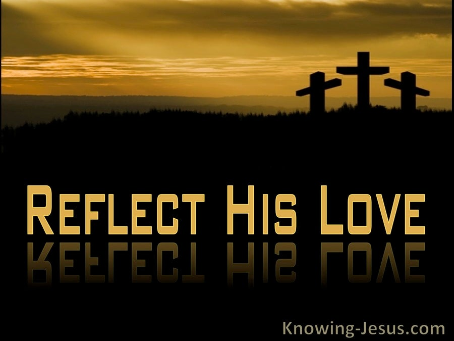 Reflect His Love (devotional) (black)