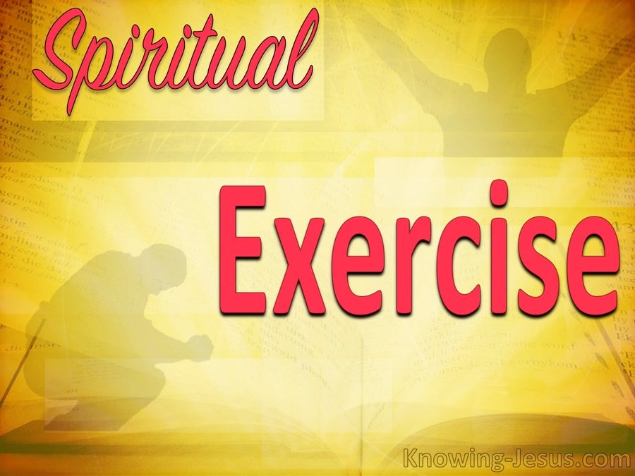 Spiritual Exercise (devotional)05-30 (red)
