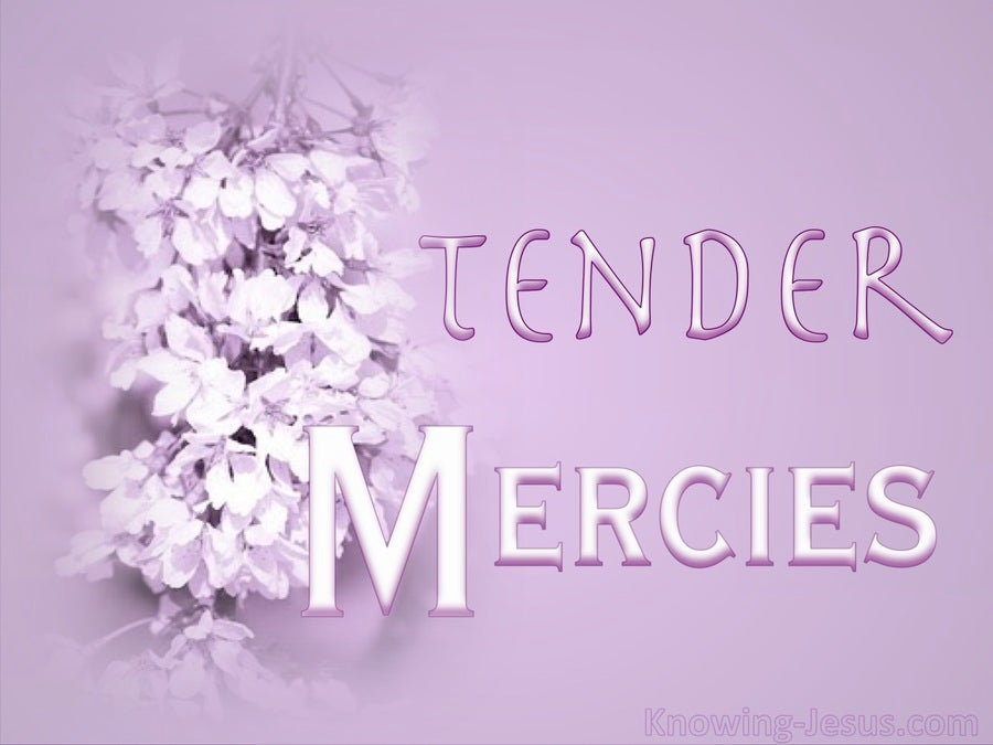 Psalm 26:5 Tender Mercies