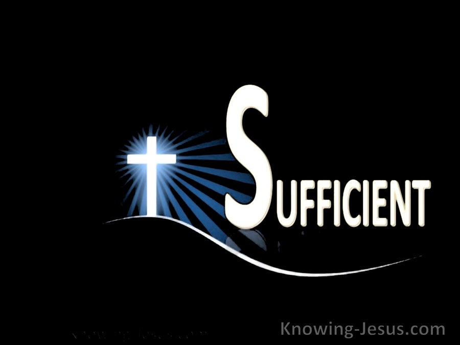The All-Sufficient God (devotional)