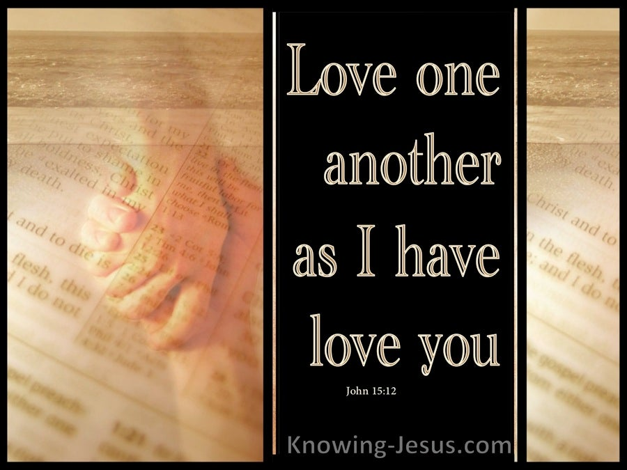 The Arm of Love (devotional) - John 15:12