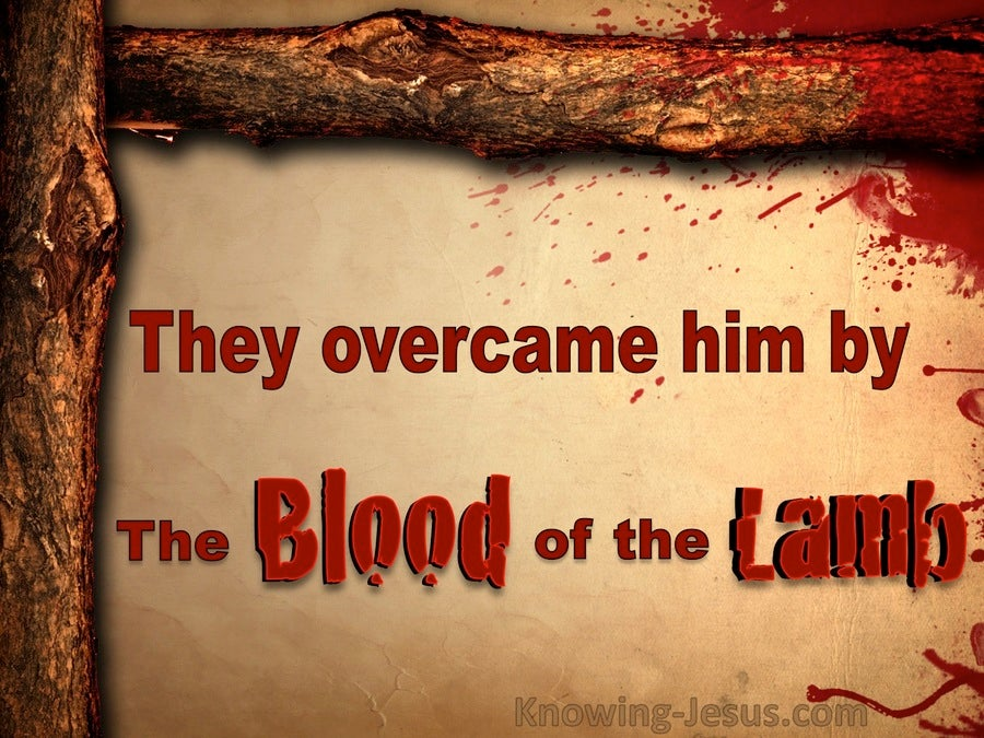 The Blood of the Lamb (devotional) (red) - Revelation 12:11