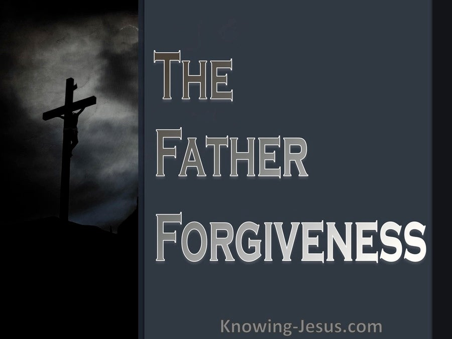 The Father's Forgiveness (devotional) (gray)