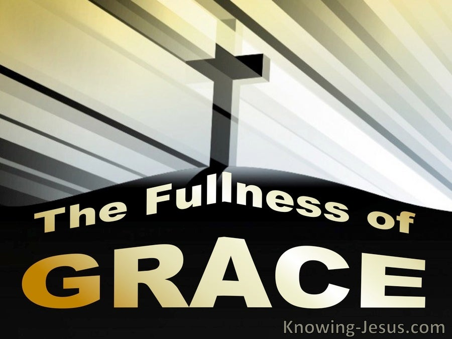The Fullness of Grace (devotional) (yellow) - John 1:16