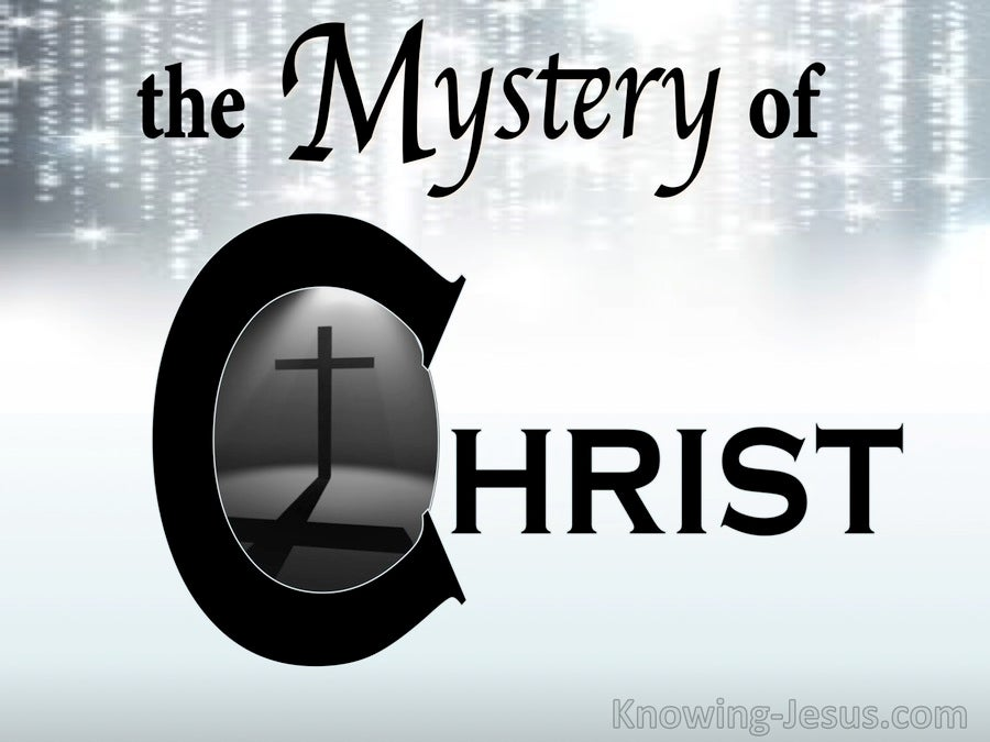 The Mystery of Christ (devotional) (white) - Ephesians 3:4