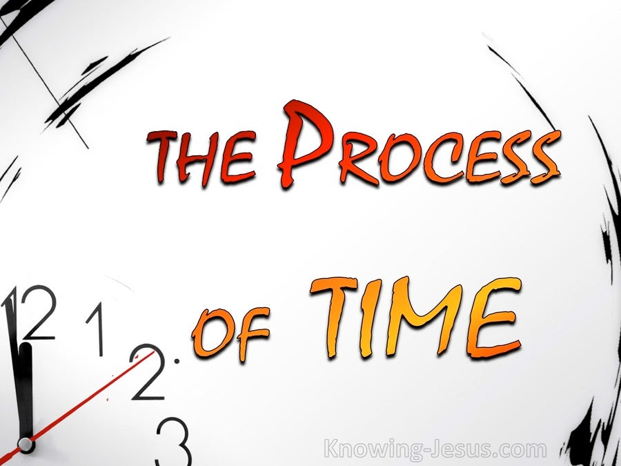 The Process of Time (devotional) (white)