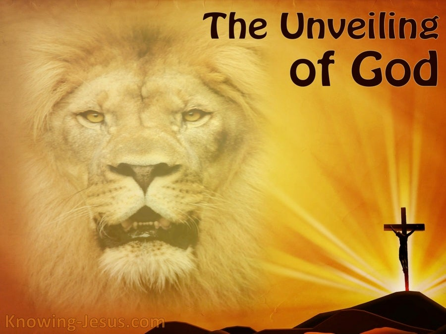 The Unveiling of God (devotional) 1