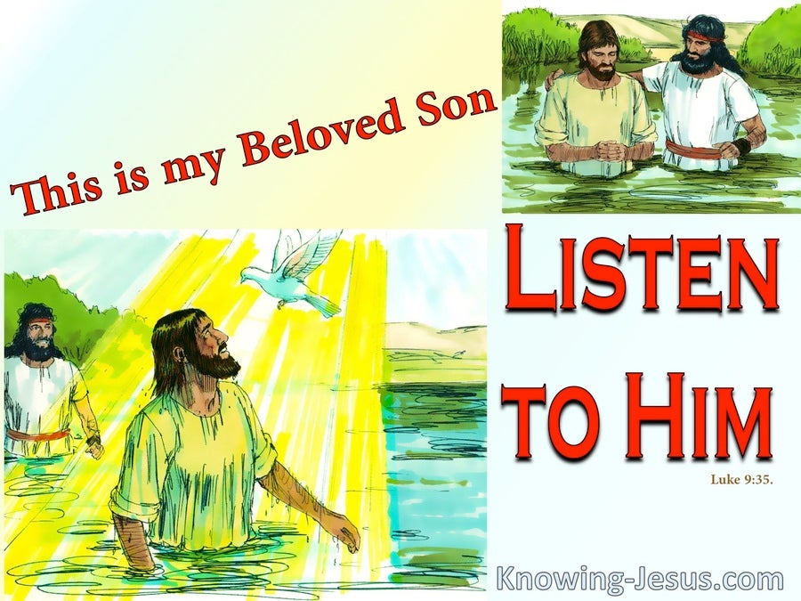 Luke 9:35 The Voice Of My Beloved (devotional)01:18 (red)