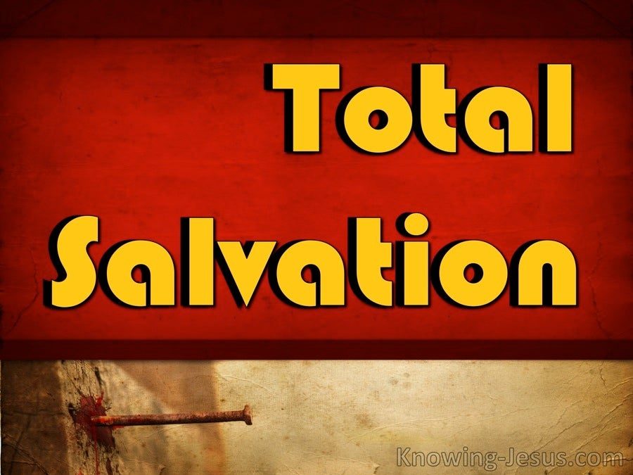 Total Salvation (devotional) (yellow)