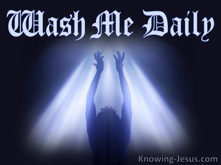 Wash Me Daily (devotional)