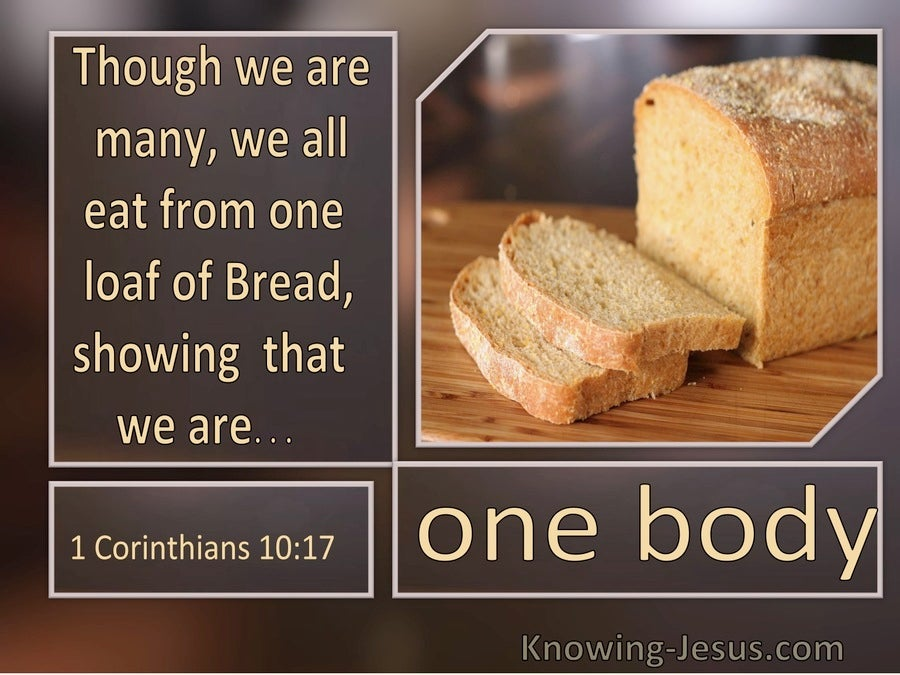 1 Corinthians 10:17 We All Eat From One Bread (windows)10:07