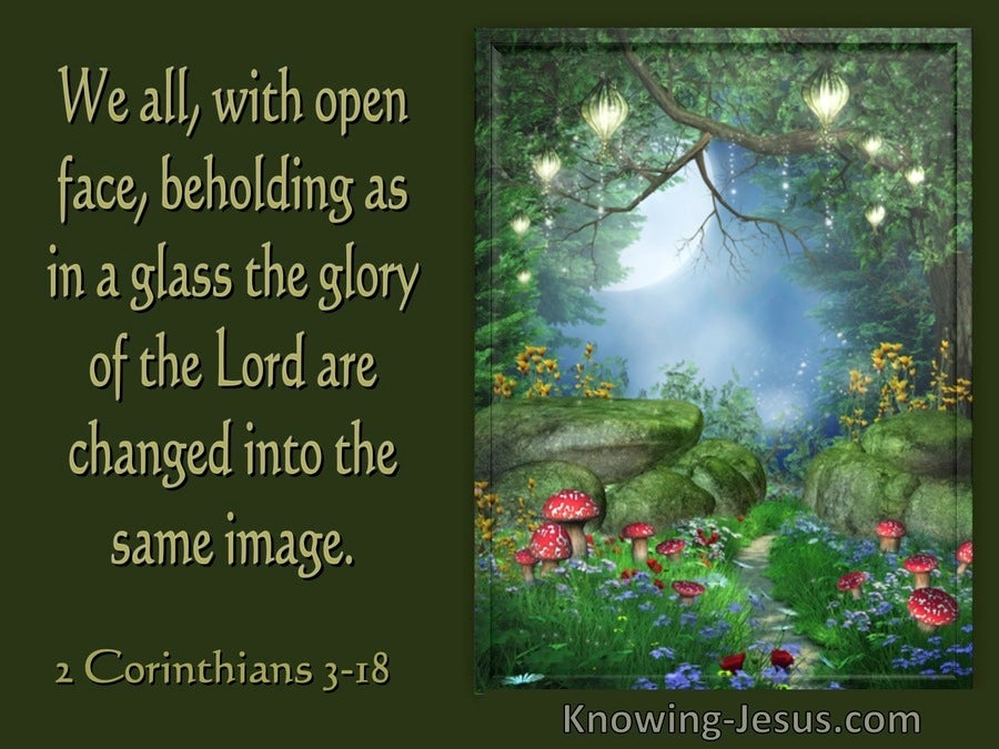 2 Corinthians 3:18 We With Open Face Beholding As In A Glass The Glory Of The Lord... (utmost)01:23