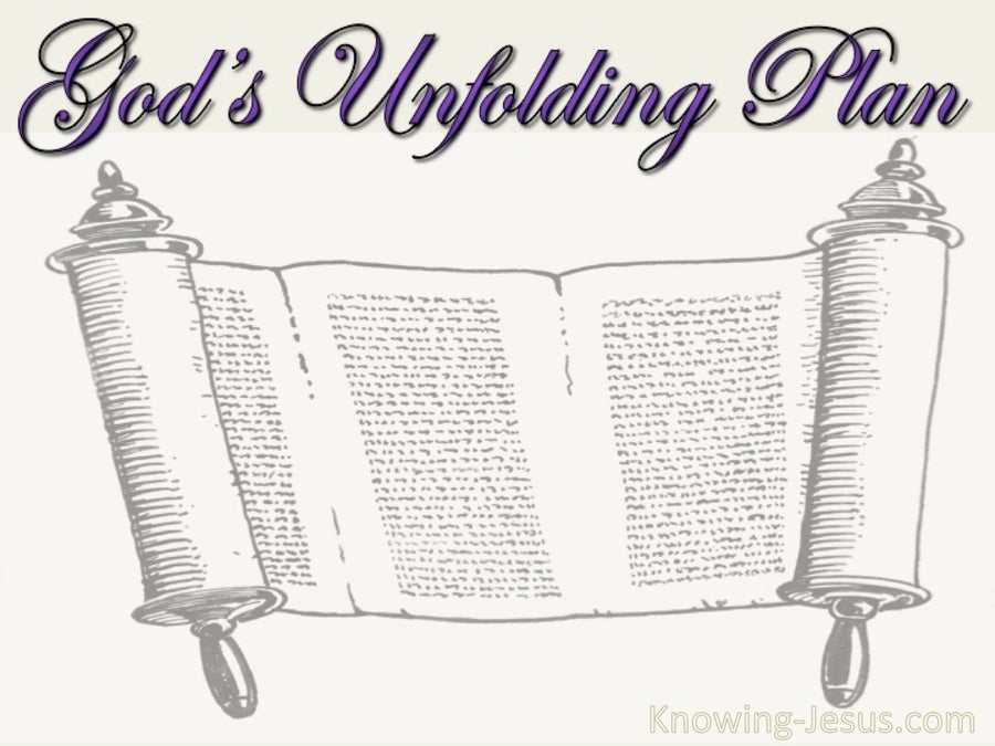 God's Unfolding Plan (devotional) (white)