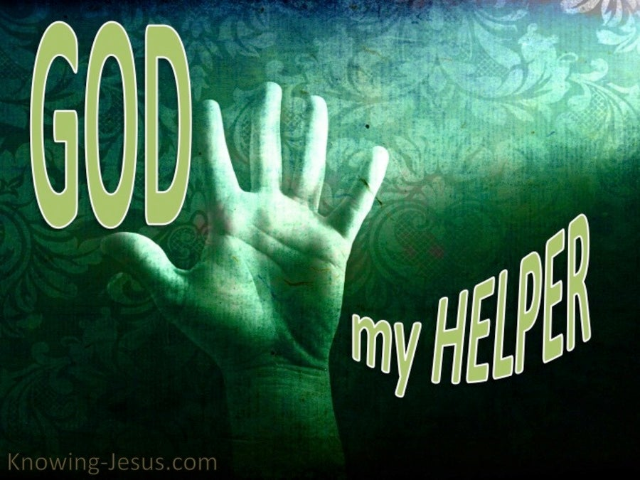 God, My Helper (green)