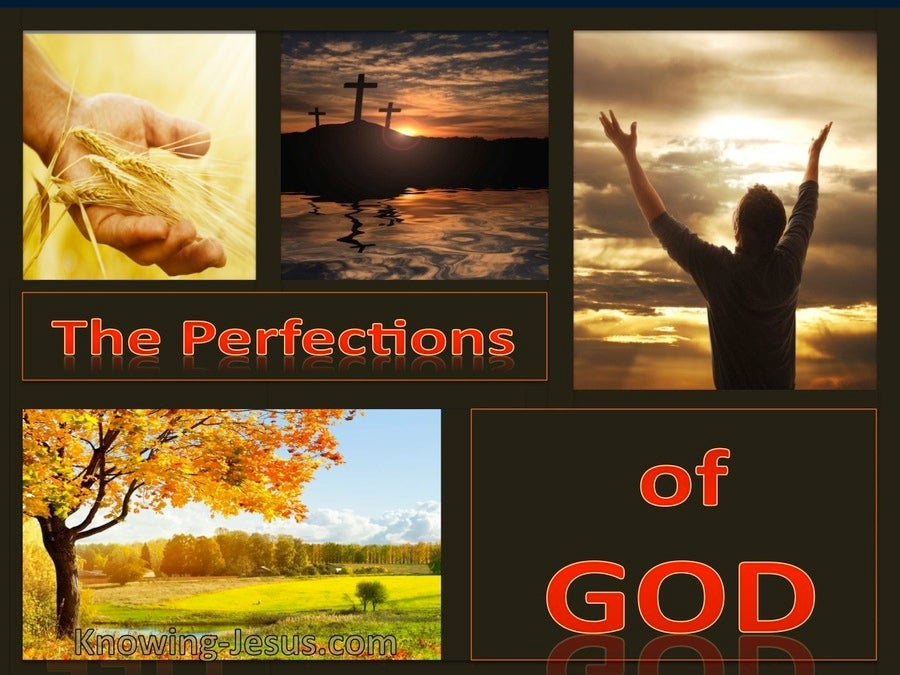 The Perfections of God (devotional) (red)