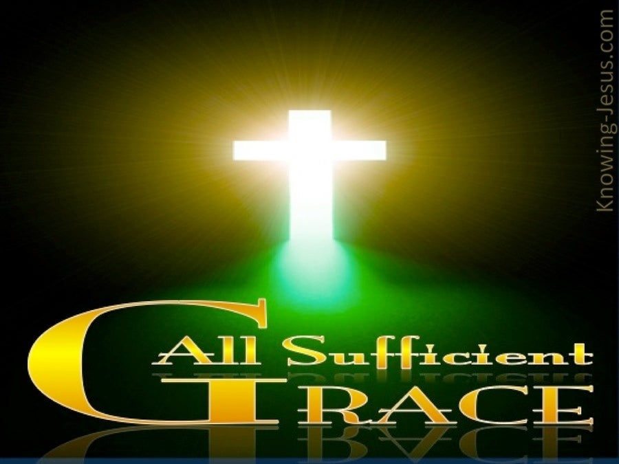 All Sufficient Grace (devotional)