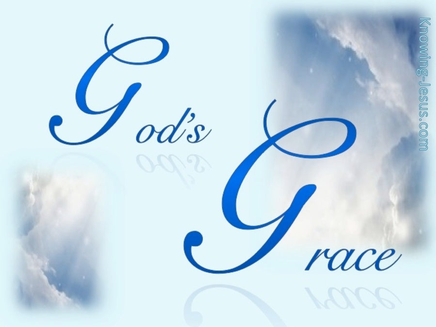 GOD Of Grace (blue)