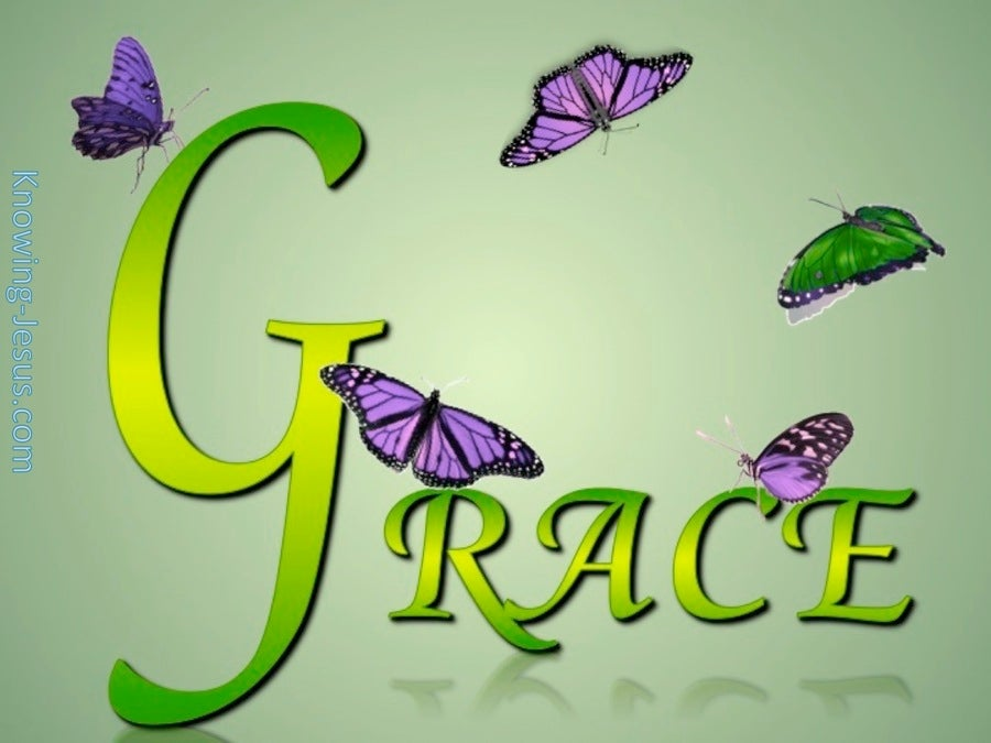 GRACE butterfly (green)