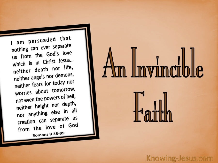 An Invincible Faith (devotional)
