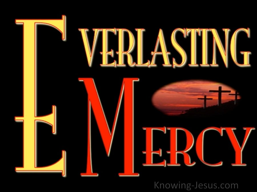 Everlasting Mercy (devotional) (red) - Psalm 100:5