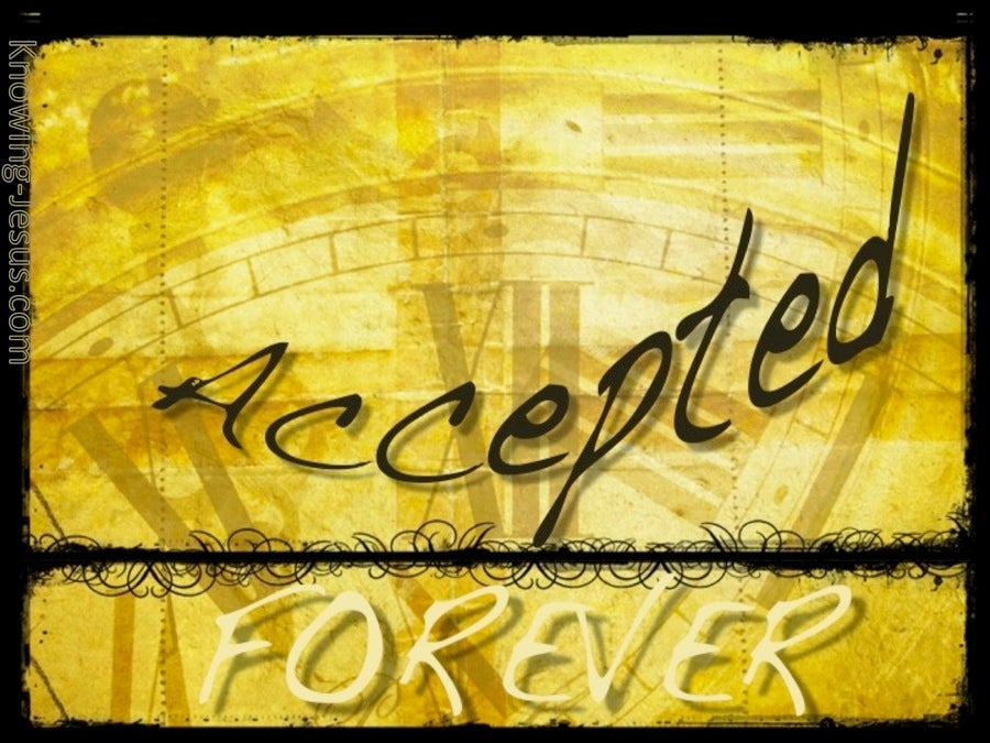 Forever Accepted (devotional) (yellow)