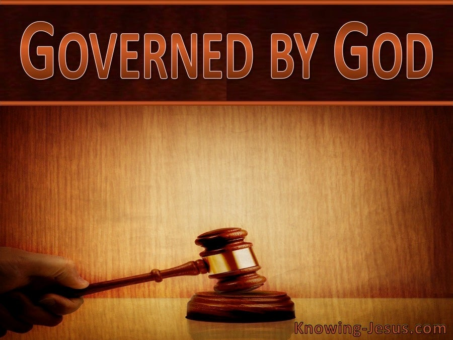 Governed by God (devotional) (brown)